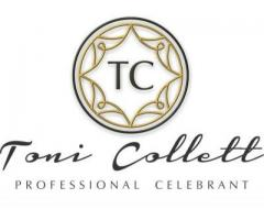 Toni Collett Marriage Celebrant